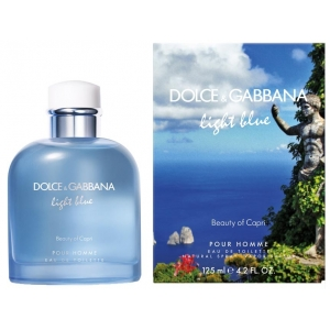 Dolce Gabbana Light Blue Pour Homme Beauty of Capri